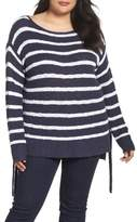 Caslon Tunic Sweater with Side Ties