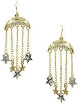 Kensie Charms Drop Earrings