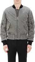 Maison Margiela Men's Multi-Pocket Padded MA1 Bomber Jacket-GREY