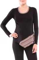 Olian Women's Audrey Asymmetrical Maternity Top