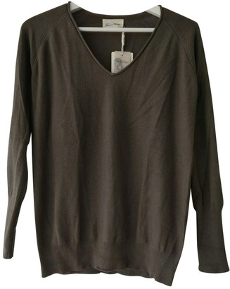 American Vintage Brown Cotton Knitwear for Women