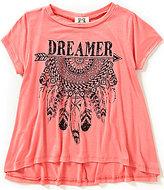 People's Project LA Big Girls 7-16 Dreamer Swing Graphic Tee