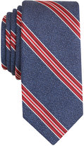 Bar III Men's Corby Stripe Slim Tie, Only at Macy's