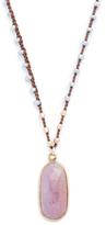 Native Gem Pink Sapphire Necklace