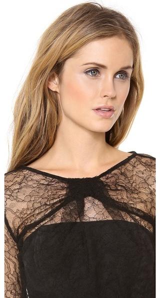 Zimmermann Precocious Lace Twist Dress