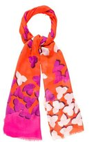 Diane von Furstenberg Abstract Print Scarf w/ Tags