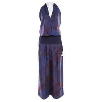 Hermes \N Navy Silk Jumpsuits