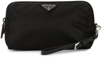 Prada Pre Owned Logos Cosmetic Pouch