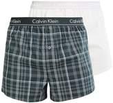 Calvin Klein Underwear Slim Fit 2 Pack Boxer Shorts Green