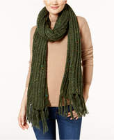 Steve Madden Speckled Soft Knit Scarf