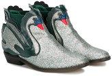 Stella McCartney swan boots