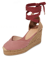 Castaner Classic Canvas Wedge Espadrilles