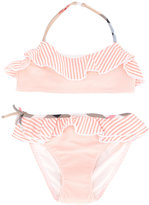 Burberry striped bikini