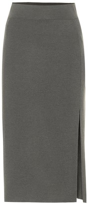 81 Hours Tad wool midi skirt