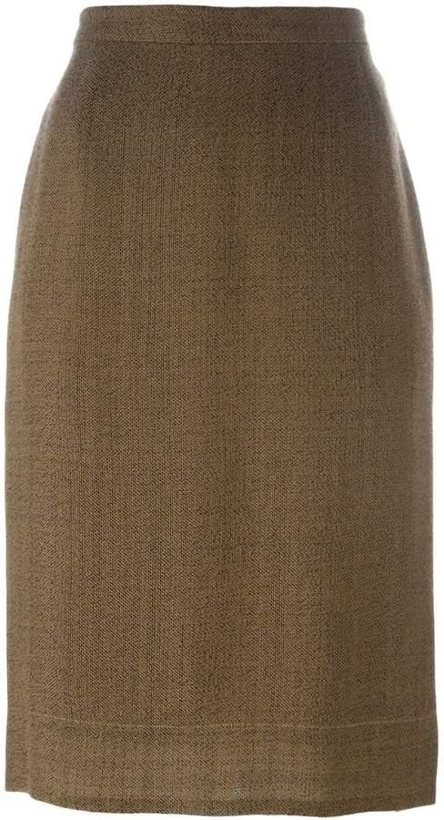 7a83b0df0 Brown Pencil Skirt - ShopStyle