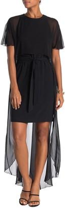 Trina Turk Capote Overlay Dress