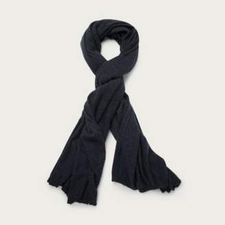 The White Company Cashmere Ultimate Blanket Scarf , Dark Grey, One Size