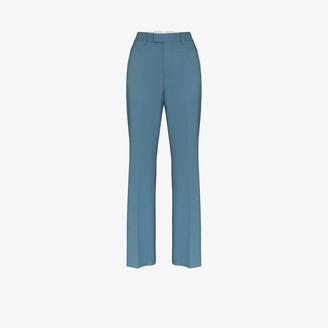Samuel Guì Yang High Waist Flared Trousers