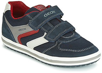 Geox VITA boys's Shoes (Trainers) in Blue