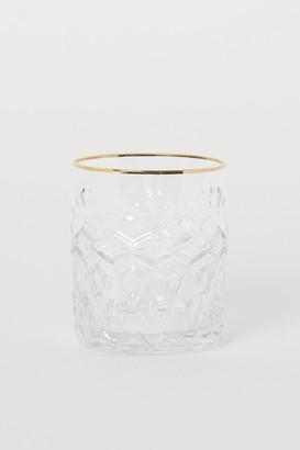 H&M Textured Beverage Glass