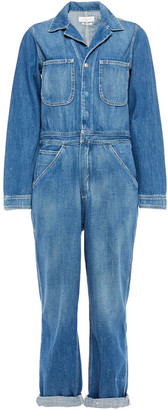 Rag & Bone Faded Denim Jumpsuit