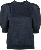 ADAM by Adam Lippes short puff sleeve sweatshirt