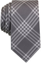 Bar III Men's Canton Plaid Skinny Tie, Created for Macy's
