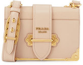 Prada Laser-Cut Cahier Shoulder Bag