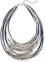 New York & Co. Multi-Row Seed Bead Necklace
