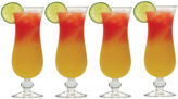 Mikasa Barmaster's Set of 4 Hurricane Glasses