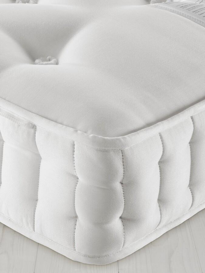 John Lewis & Partners Natural Collection Swaledale Wool 11400, Super King Size, Medium Tension Pocket Spring Zip Link Mattress