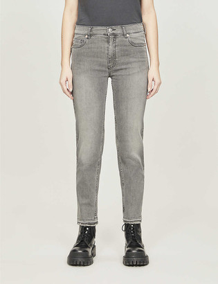 Zadig & Voltaire Elton mid-rise stretch-denim jeans