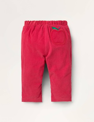 Jersey-lined Cord Trousers