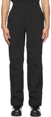 Blackmerle Black Pocket Trousers