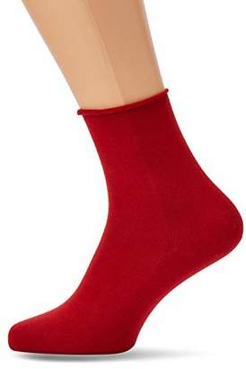 Kunert Women's Sensual Cotton Tights, (China Red 0900)