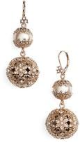 Marchesa Women's Imitation Pearl Drop Earrings