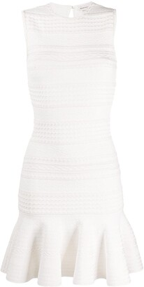 Alexander McQueen Scalloped Knitted Dress