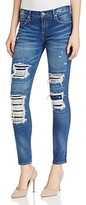 True Religion Halle Distressed Super Skinny Jeans