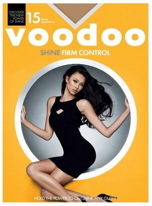 Voodoo Shine Firm Control Sheers 15 Denier 1 Pack Bronze