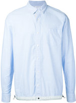 Sacai drawstring waist shirt - men - Cotton - 2