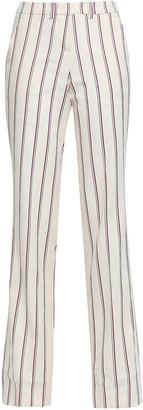 BA&SH Farah Striped Twill Straight-leg Pants