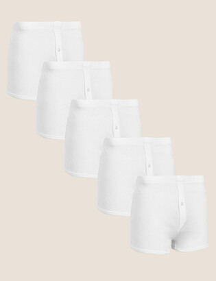 Marks and Spencer 5 Pack Cotton Trunks