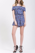 Blu Pepper Blue Skies Romper