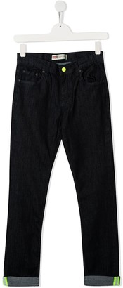 Levi's TEEN rolled skinny jeans