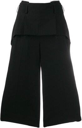 Comme des Garcons Cropped Palazzo Pants