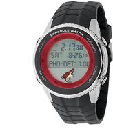 Game Time Arizona Coyotes Silver Tone Digital Schedule Watch - NHL-SW-PHO - Men