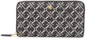 Lauren Ralph Lauren All-Over Logo Continental Wallet