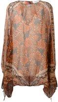 Chloé scarf print blouse - women - Silk - 40