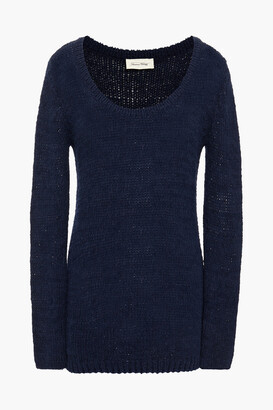 American Vintage Saiastate Boucle-knit Cotton-blend Sweater