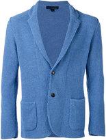 Lardini textured two-button blazer - men - Cotton/Polyamide - S